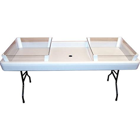 ideal depth and table for round chill table depth extension