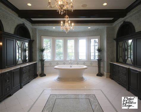 dream master bath traditional bathroom chicago  project partners design