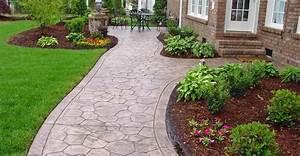 Concrete Sidewalk Ideas