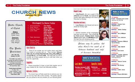Best Photos Of Church Bulletin Layout  Church Bulletin