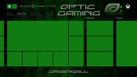 xbox  dashboard background optic style opticgaming