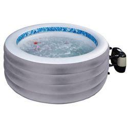 Kleiner Aufblasbarer Pool aufblasbarer whirlpool outdoor im garten relaxen