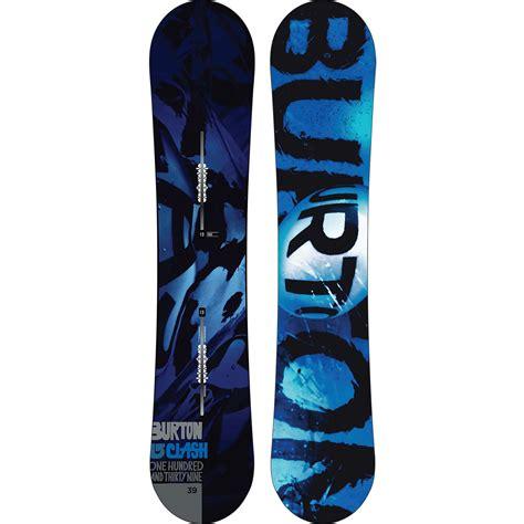 Burton Clash Snowboard + Burton Custom Snowboard Bindings ...