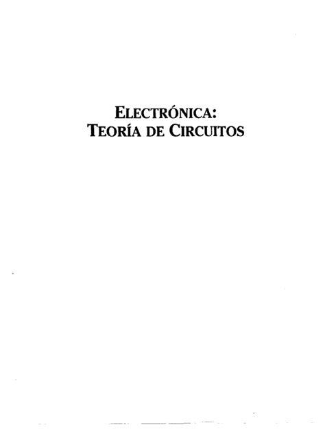 Boylestad Robert L -Electrónica Teoría de Circuitos 6