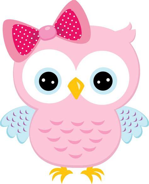pink owl clipart  clipartioncom