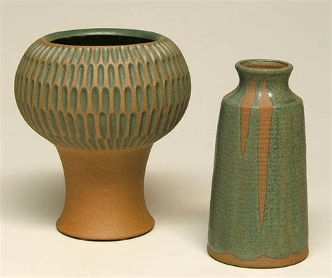 Pottery Lamp by Robert Maxwell