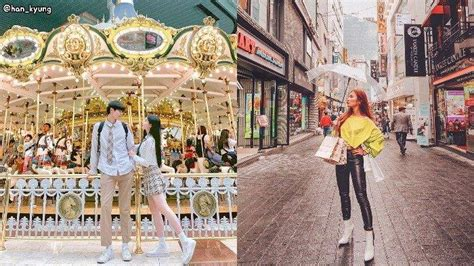 tempat wisata instagramable  seoul korea selatan