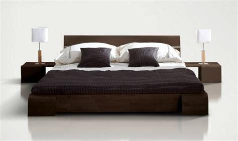 chambre a coucher adulte pas cher lit design et pas cher en bois massif avec ou sans