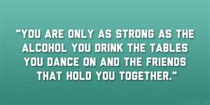 Drinking With F... Friendship Booze Quotes