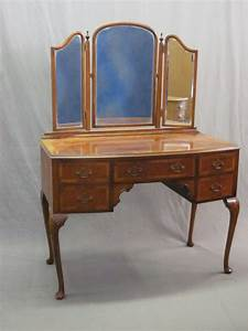 Queen Anne Dressing Table PDF Woodworking