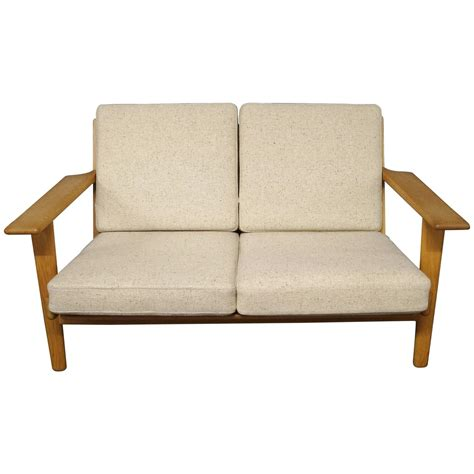 Ge 290 Two Person Sofa Designed By Hans J Wegner 1960s