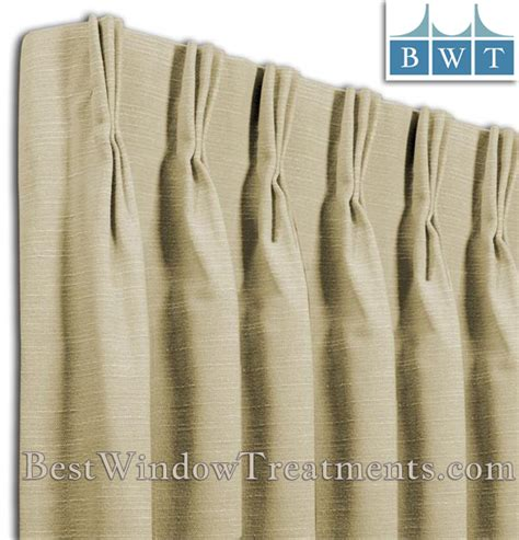 How To Measure For Pinch Pleated Drapes - pinch pleat custom drapery panel single width