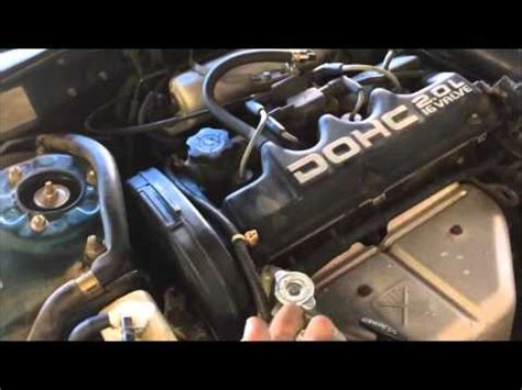 how to replace a timing belt on a eclipse 1989 1999 part one