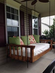 Turned An Old Twin Mattress Into The Best Couch Bed Swing