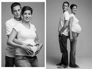 Sesion fotográfica de embarazada en pareja El estudio de