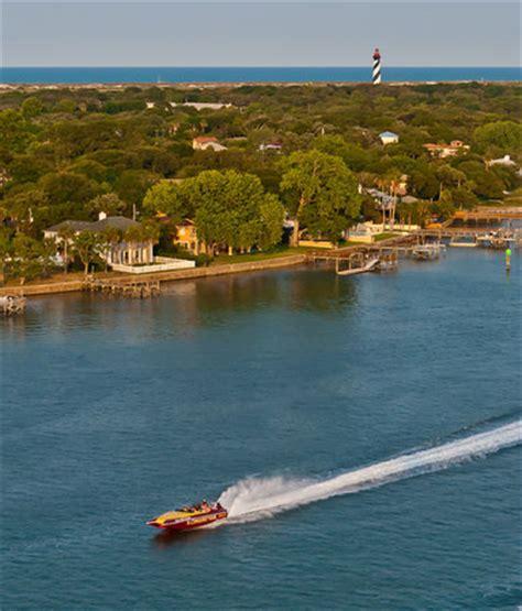 Boat Ride St Augustine by El Conquistador Speedboat Thrill Ride Tour St