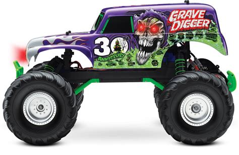 grave digger 30th anniversary monster truck toy traxxas 30th anniversary grave digger rcnewz com