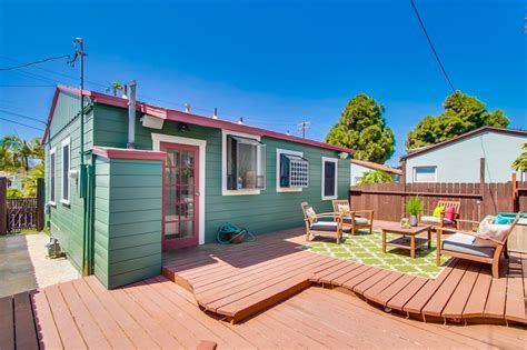 tiny house san diego this tiny bungalow in san diego invites you to kick back realtor com 174