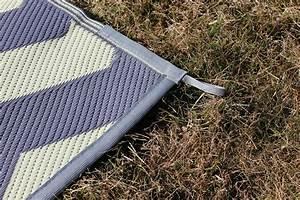 rv patio rug indoor outdoor cing mat chevron pattern