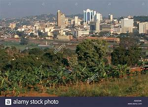 A view of the Kampala the capital city of Uganda Stock ...