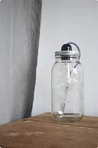Luminaire Fait Maison : lampe fait maison comment fabriquer une jolie lampe avec ~ Melissatoandfro.com Idées de Décoration