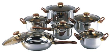 Wonderful Furniture  Kitchen Pots And Pans Set With
