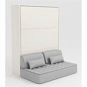 But Lit 160x200 : armoire lit escamotable stone 160x200 blanc canap achat vente lit escamotable pas cher ~ Teatrodelosmanantiales.com Idées de Décoration