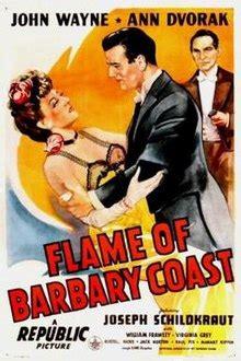 flame  barbary coast wikipedia