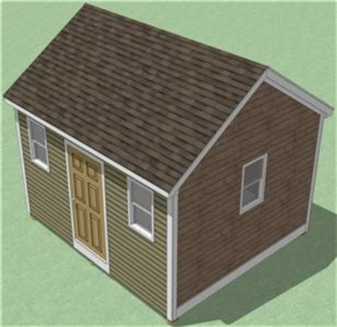 summers free 10x14 gable shed plans