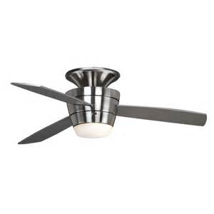 allen roth 44 inch mazon brushed steel ceiling fan at