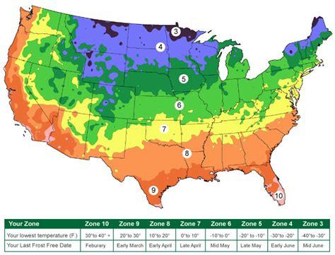Garden Zones  Last Frost Date  Find Zone By Zip Code
