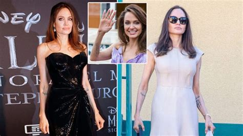 angelina jolie  anorexic shes barely  pounds