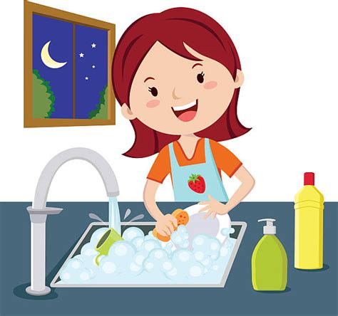 Washing Dishes Clipart Washing Dishes Clipart 5 187 Clipart Station