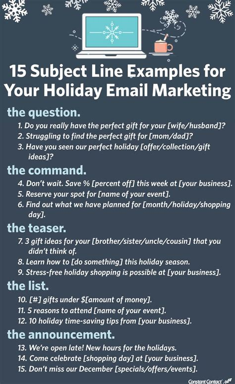 subject  examples   email marketing