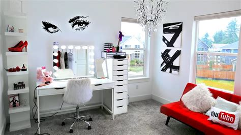 Decorating New Glam Room Decor + Organization!  Youtube