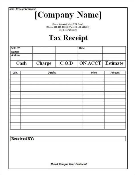 payment receipt templates  sample  format