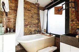 Style De Salle De Bain : salle de bains style industriel des exemples qui s 39 aiment ~ Teatrodelosmanantiales.com Idées de Décoration