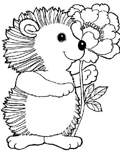 trattorie co dei fiori per i piu piccoli disegni da colorare per bambini di anima