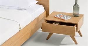 Olsen Bedside Table In Oak