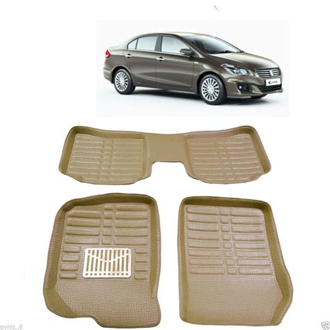 Style:we can do 2 style ,please see the instructions. Car 3D Foot Mats For Maruti Suzuki Ciaz - Carhatke.com