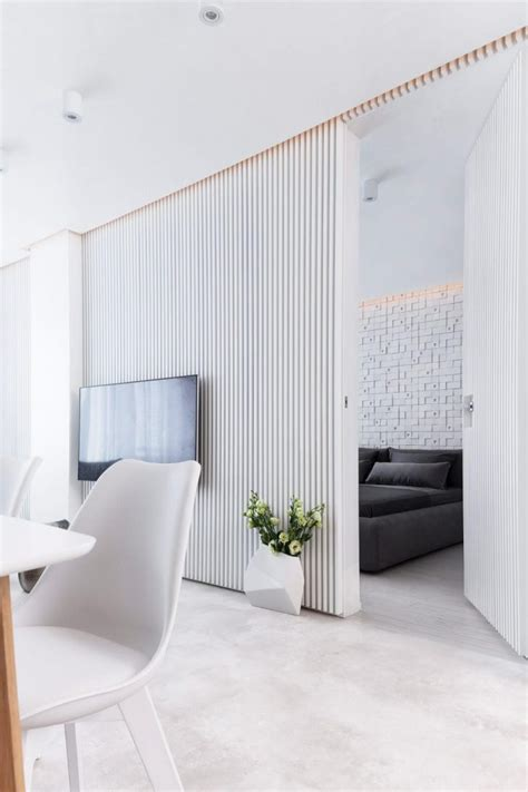 White Apartment by White Apartment By Pavel Yanev Archiscene Your Daily