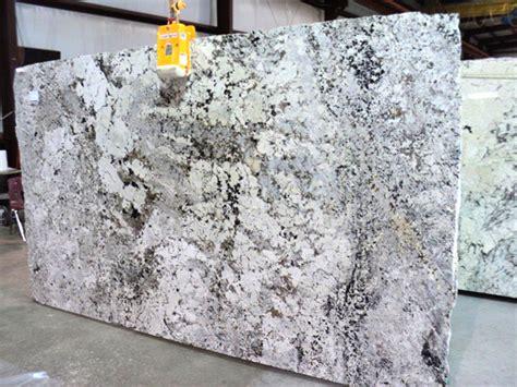 glacier white granite slab 35489