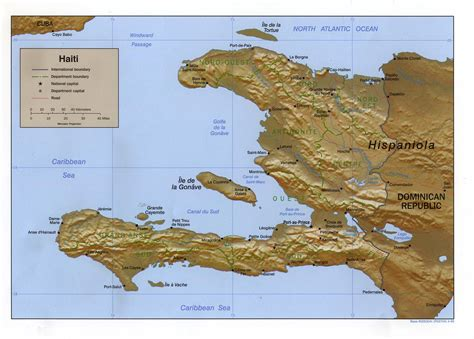 Haiti Carte Du Monde by Carte Ha 239 Ti Carte De Ha 239 Ti
