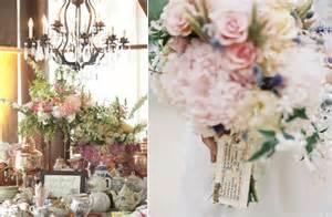 vintage wedding venues vintage wedding reception decor flowers pastel centerpieces onewed