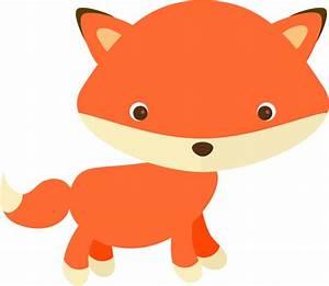 Clipart - Cute Fox