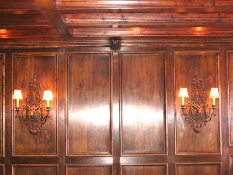 Wainscoting Wood Panels by Mahogany Wainscoting Panels Chateau Bed Architecture