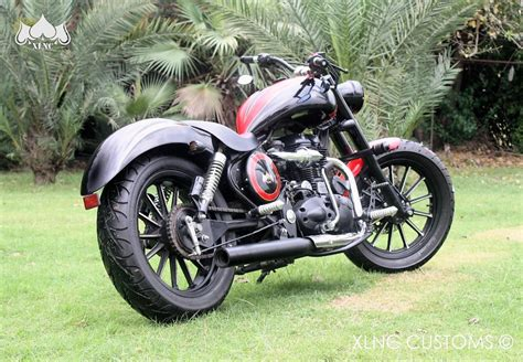 Modified Enfield Bikes In Delhi by Royal Enfield Electra 350 Swagg Edition By Xlnc Customs