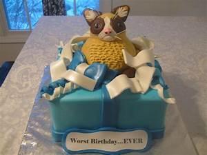 Grumpy Cat Cake | C'est La Vie Custom Cakes | Pinterest