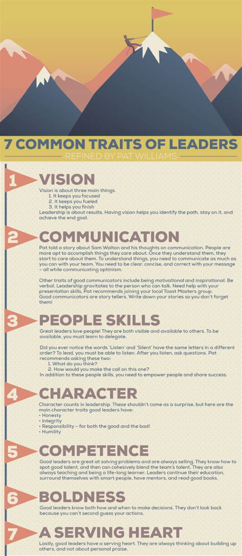 common traits  leaders schmidt associates