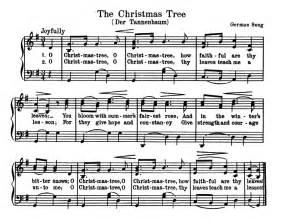 o christmas tree notes